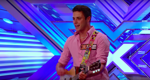 Barclay Beales (of Stereo Kicks) X Factor audition