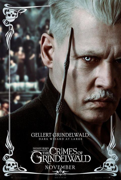 Fantastic Beasts 2 character posters, Gellert Grindelwald
