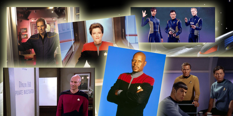 PHOTOSHOP, Star Trek, Star Trek: The Next Generation, Star Trek: Enterprise, Star Trek: Discovery
