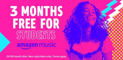 Deal of the Day - Get Amazon Music Unlimited free for three months
