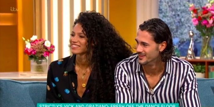 Strictly Come Dancing's Vick Hope and Graziano di Primio on This Morning