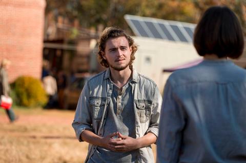 The Walking Dead Alden, Callan McAuliffe