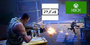 Fortnite PS4 cross play