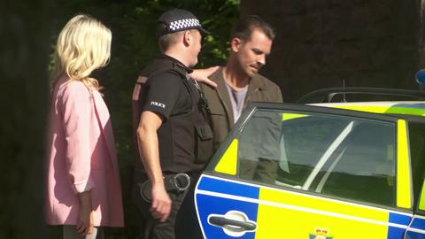 Darren Osborne is arrested in Hollyoaks