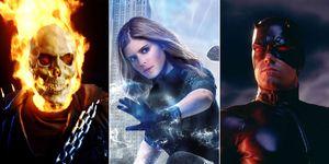 Fantastic Four, Kate Mara, Ghost Rider, Nicolas Cage, Daredevil, Ben Affleck