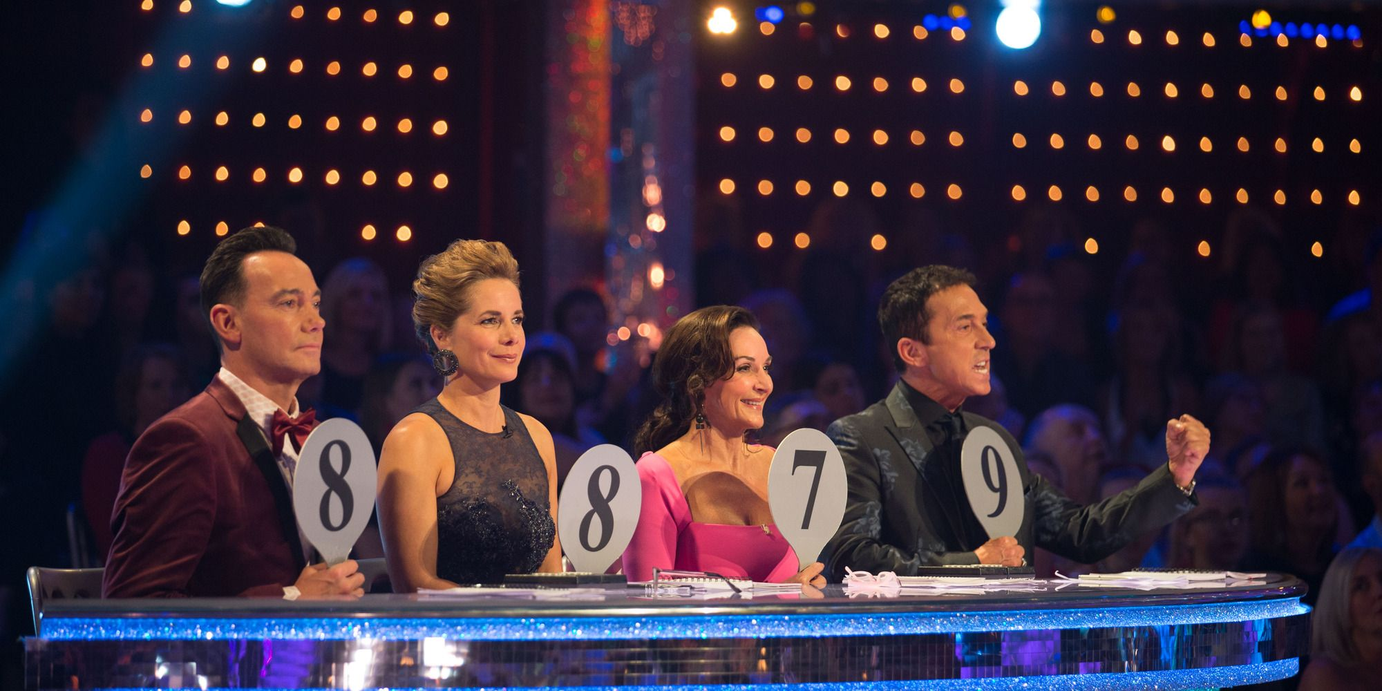 Strictly Come Dancing - week two - Judges voting