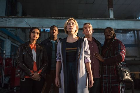 Doctor Who series 11 cast – promo shot