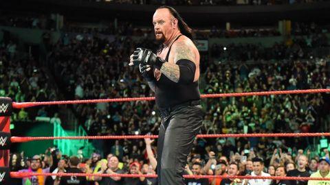 The Undertaker on WWE Monday Night Raw