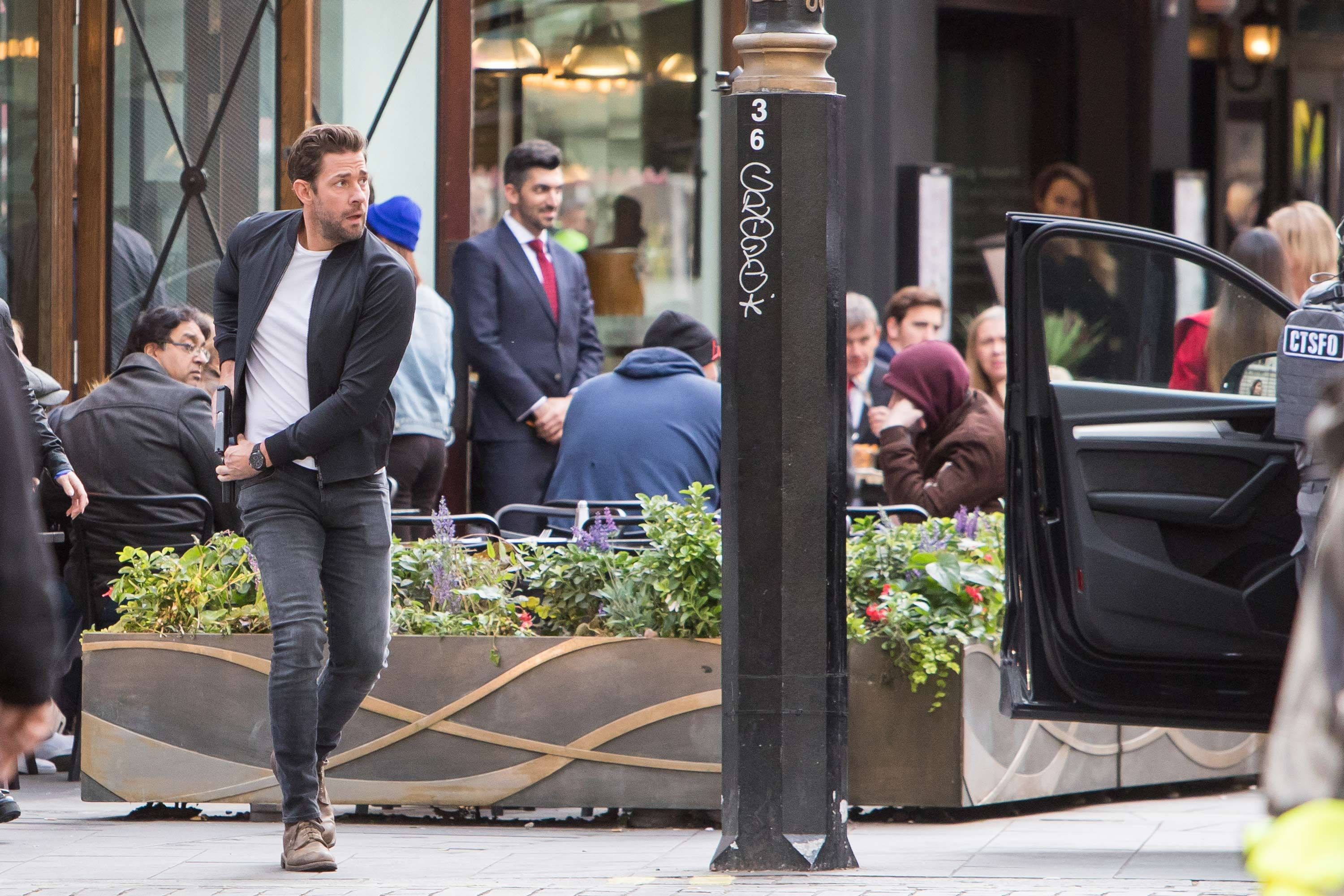 Jack Ryan season 2 pictures in London give first look at