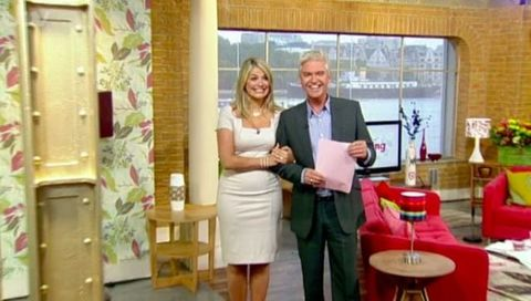 Holly Willoughby and Philip Schofield on This Morning 2005