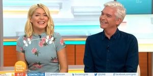 Holly Willoughby and Phillip Schofield on Good Morning Britain