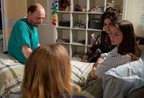 Sarah Sugden is told she can have her transplant in Emmerdale