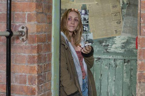 Donna-Marie Quinn returns in Hollyoaks