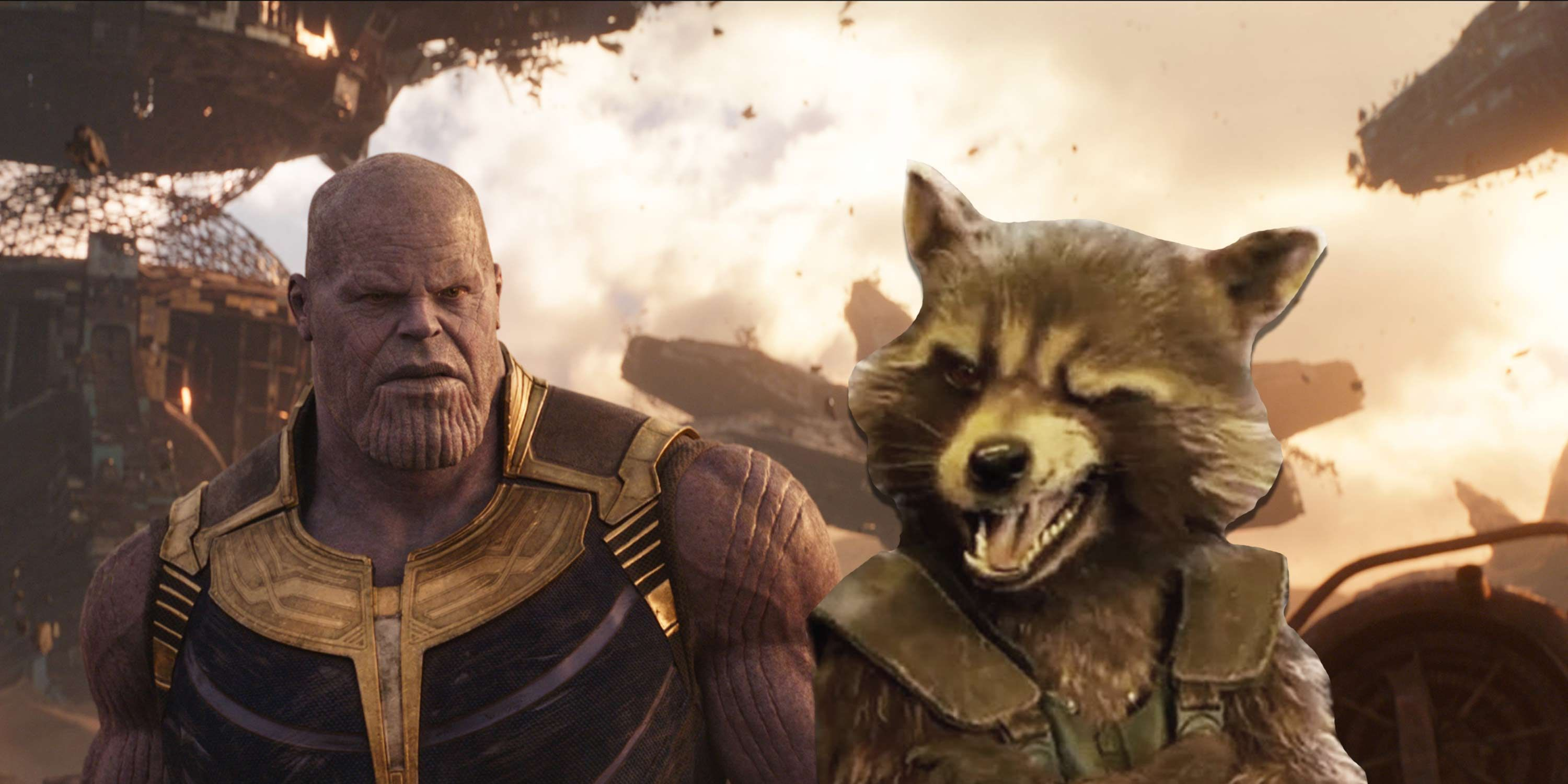 Thanos, Rocket Raccoon, Defends ending