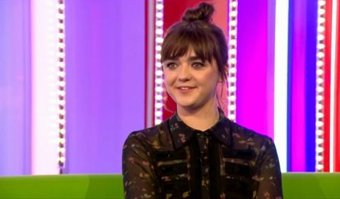 Maisie Williams on The One Show