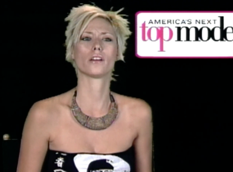 Jael Strauss, America's Next Top Model