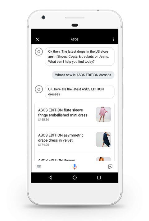 ASOS's Google Assistant lets you shop with your voice
