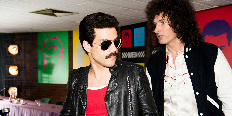 Rami Malek, Gwilym Lee, Freddie Mercury, Brian May, Bohemian Rhapsody