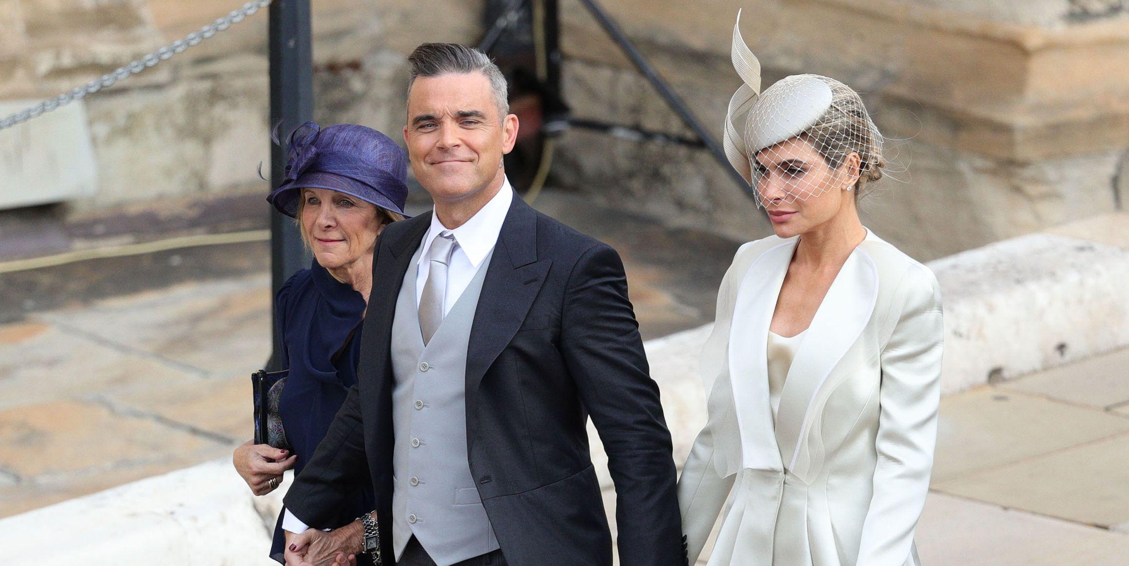 Robbie Williams and Ayda Field royal wedding