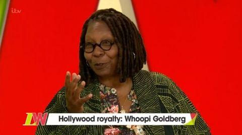 Whoopi Goldberg on Loose Women, October 12