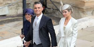 Robbie Williams and Ayda Field royal wedding