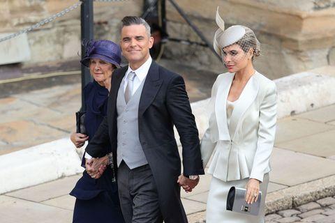 Robbie Williams accused of major faux pas at Princess Eugenie's wedding