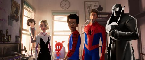 spider man into the spider verse film
