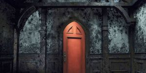 The Red Door in The Haunting of Hill House
