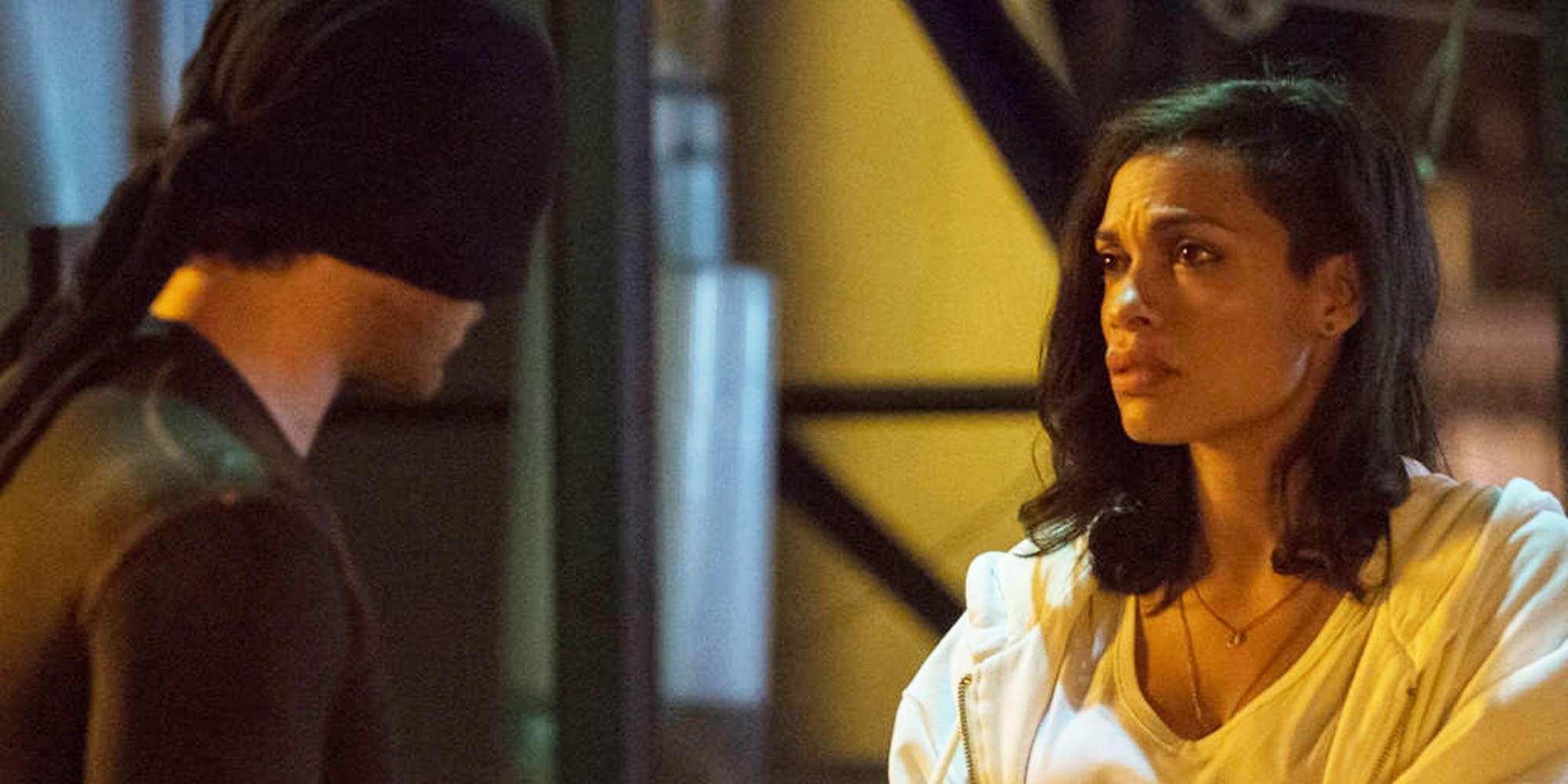 Charlie Cox, Rosario Dawson, Daredevil, Season 1