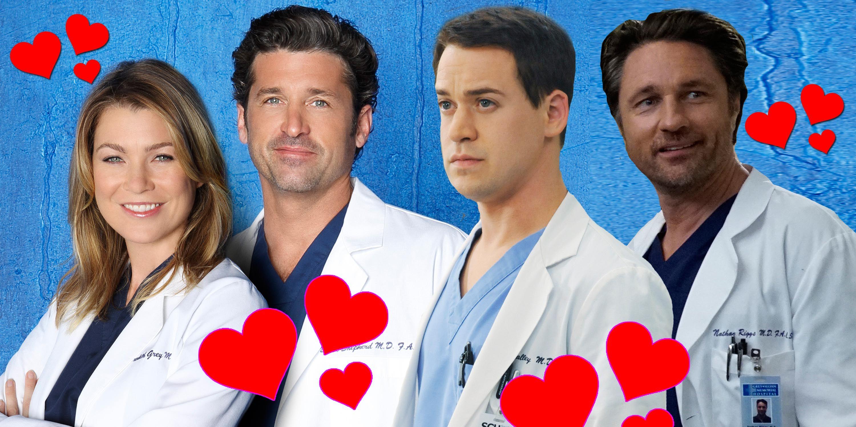 PHOTOSHOP, Grey's Anatomy, Elleon Pompeo, Patrick Dempsey, TR Knight, Martin Henderson