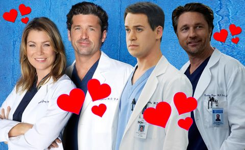 Greys Anatomy Merediths Love Interests Ranked From Best To Worst