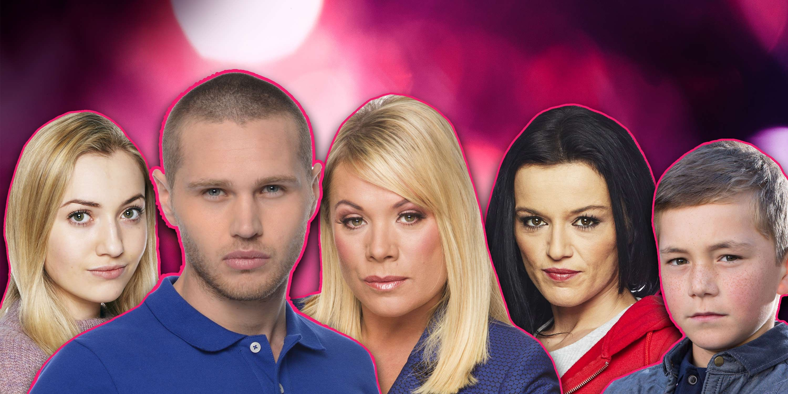 Sharon Mitchell, Keanu Taylor, Louise Mitchell, Hayley Slater, Dennis Rickman, Eastenders, Blackmail