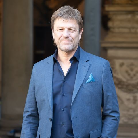 Sean Bean attends the magnificent medici press conference in florence