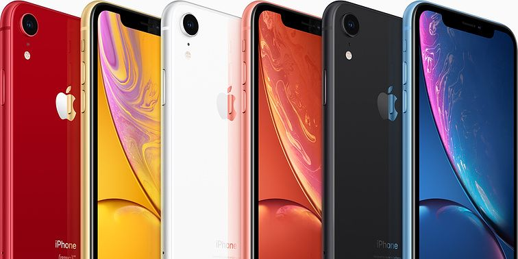 iPhone XR promo image