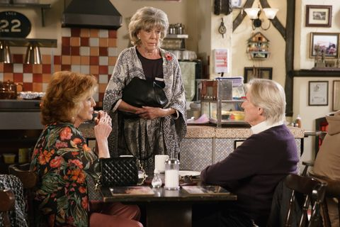 Ken Barlow makes a promise to Audrey Roberts in Coronation Street