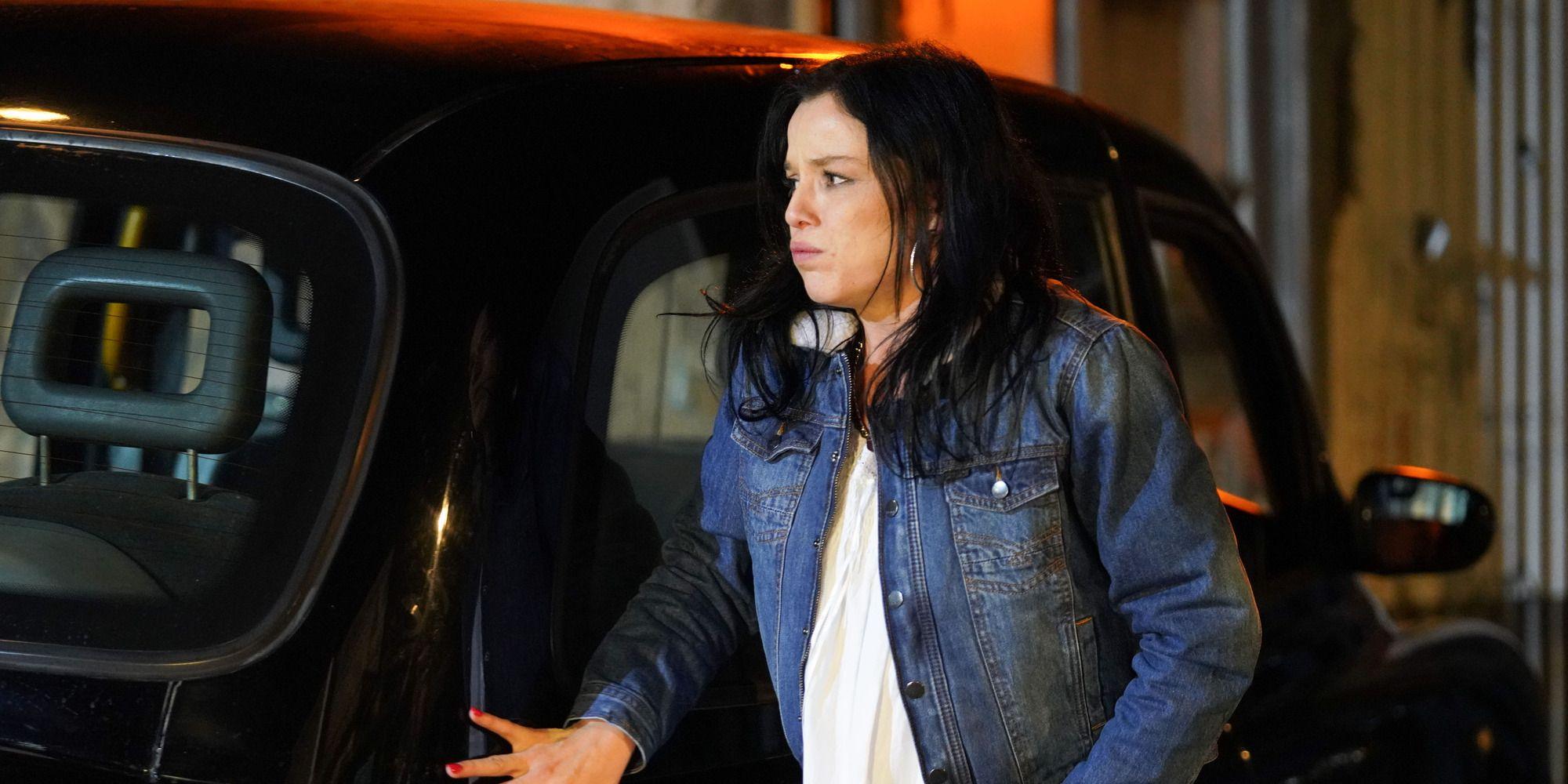 Hayley Slater in labour in EastEnders