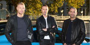 Top Gear: Freddie Flintoff, Paddy McGuinness and Chris Harris