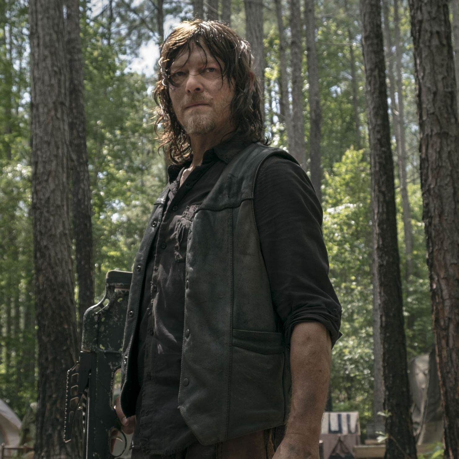 Walking Dead star Norman Reedus wants to stay on the show until the very end
