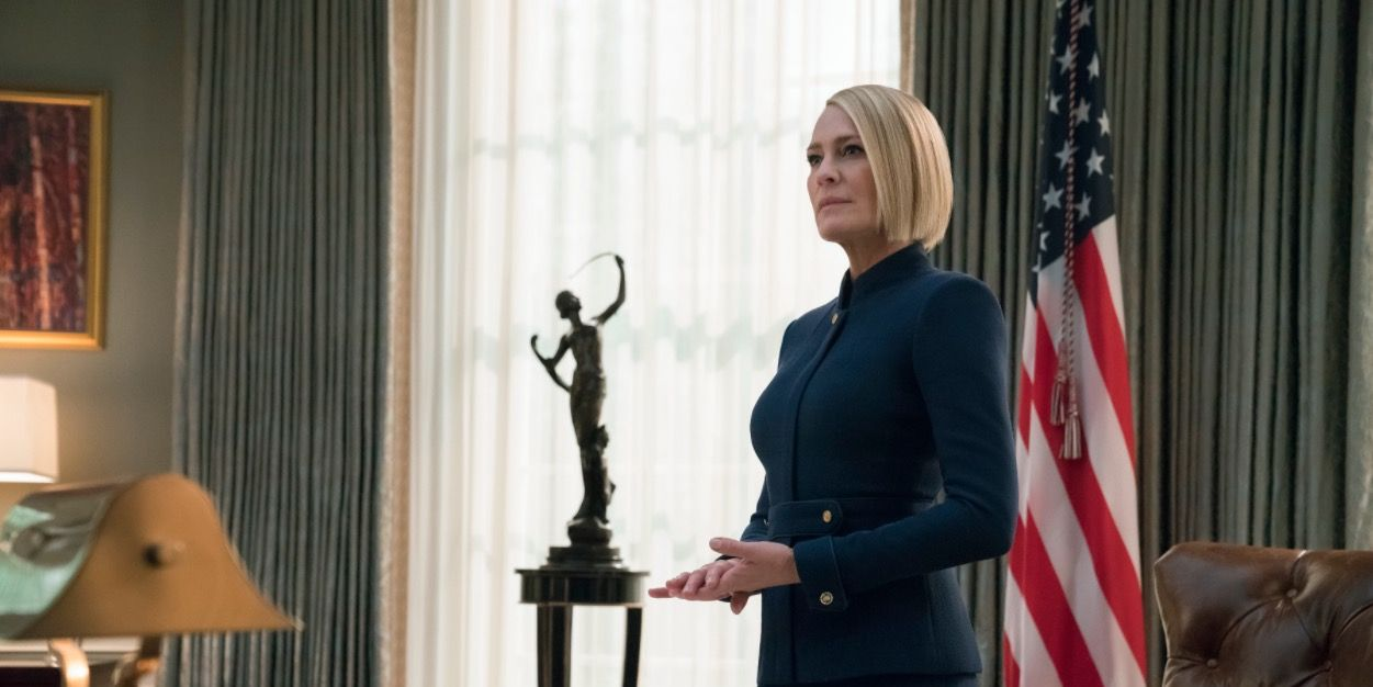 Claire Underwood in House of Cards season 6