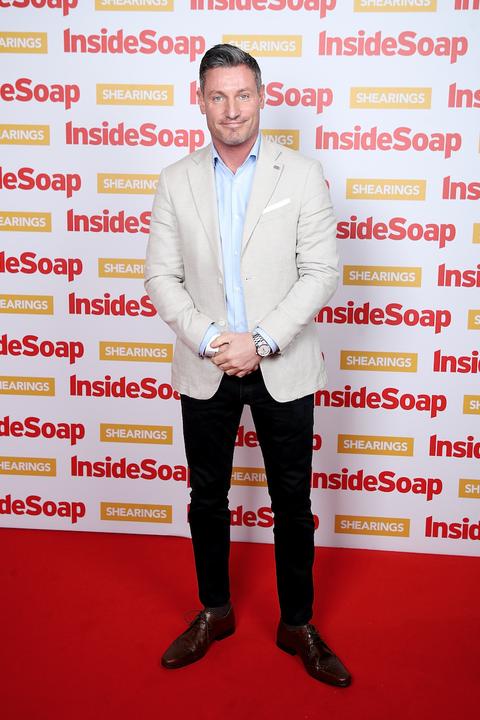 Dean Gaffney attends the Inside Soap Awards 2018