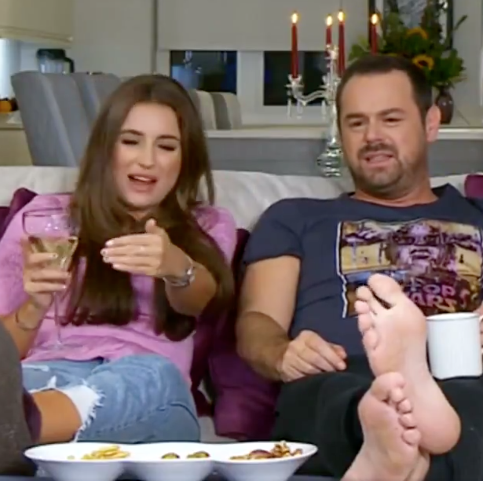 EastEnders star Danny Dyer reveals daughter Dani's secret cameo in lots of episodes