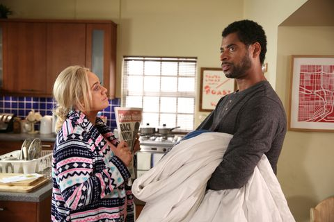 Leela Lomax and Louis Loveday in Hollyoaks