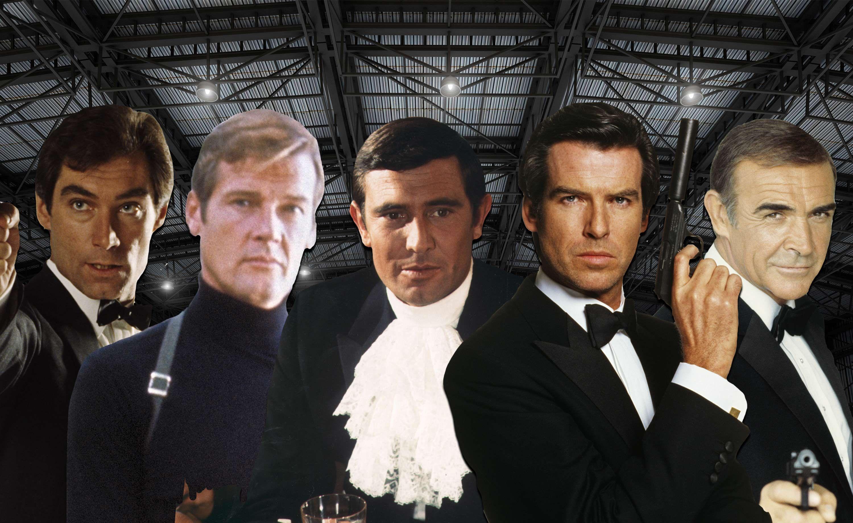 Sean Connery, Roger Moore, George Lazenby, Timothy Dalton, Pierce Brosnan, James Bond, Actor quit