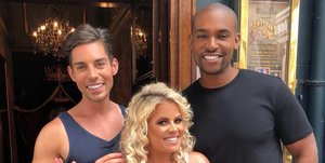 Celebs Go Dating: Tom Read Wilson, Nadia Essex, Paul Carrick Brunson