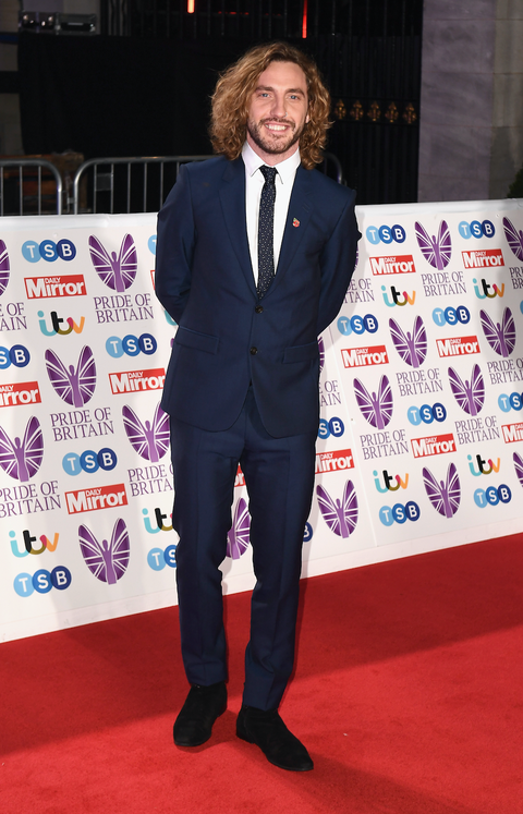 Seann Walsh attends the Pride of Britain Awards 2018