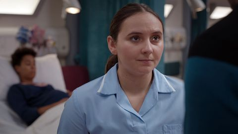 Gabriella Leon as newcomer Jade in Casualty