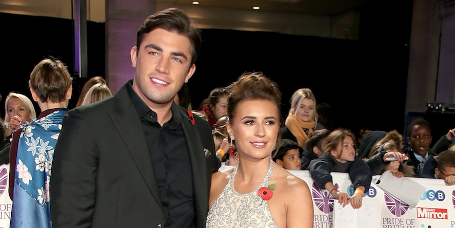 Jack Fincham and Dani Dyer attend the Pride of Britain Awards 2018