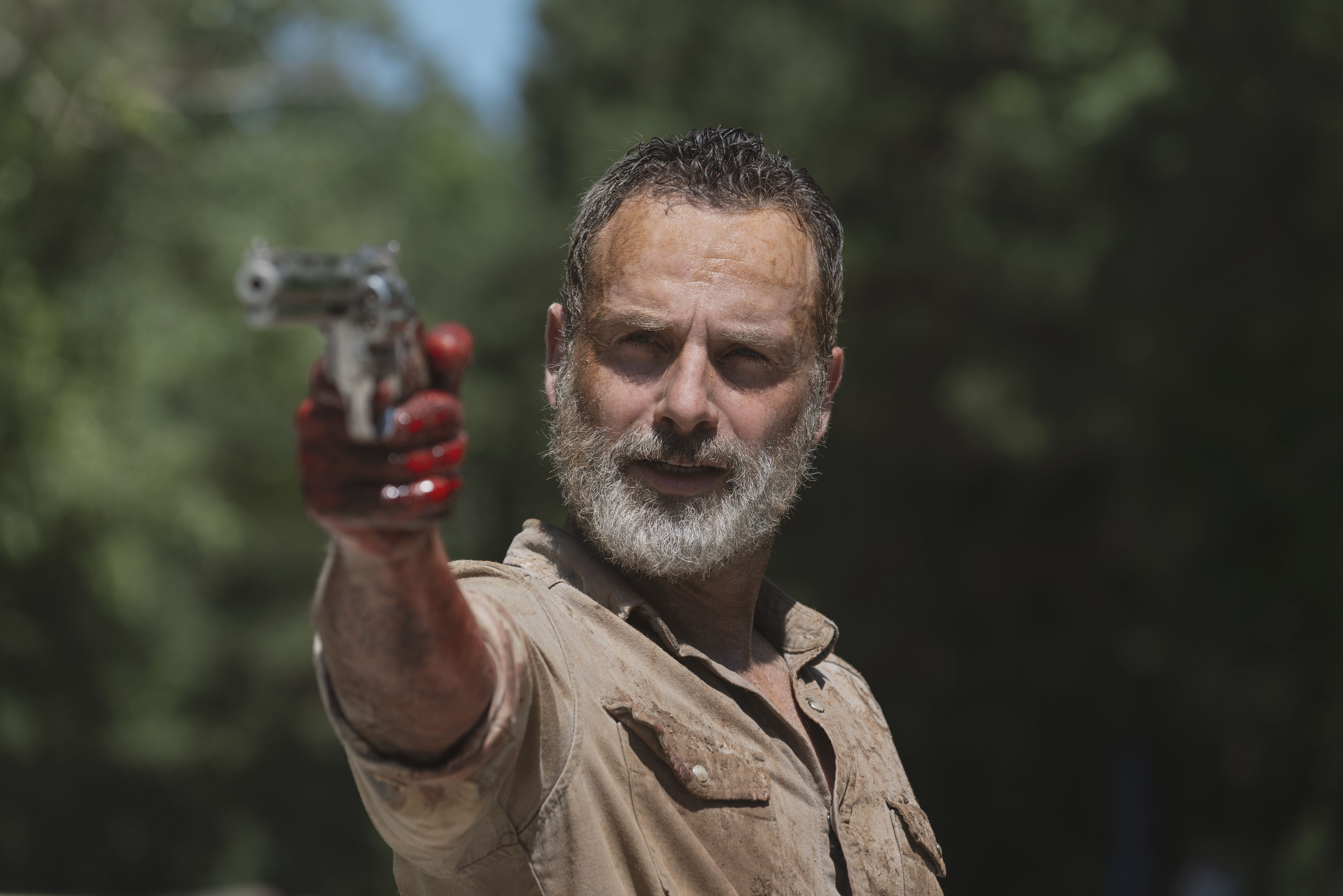 The Walking Dead boss speaks out on Rick Grimes movie trilogy's connection to the TV universe