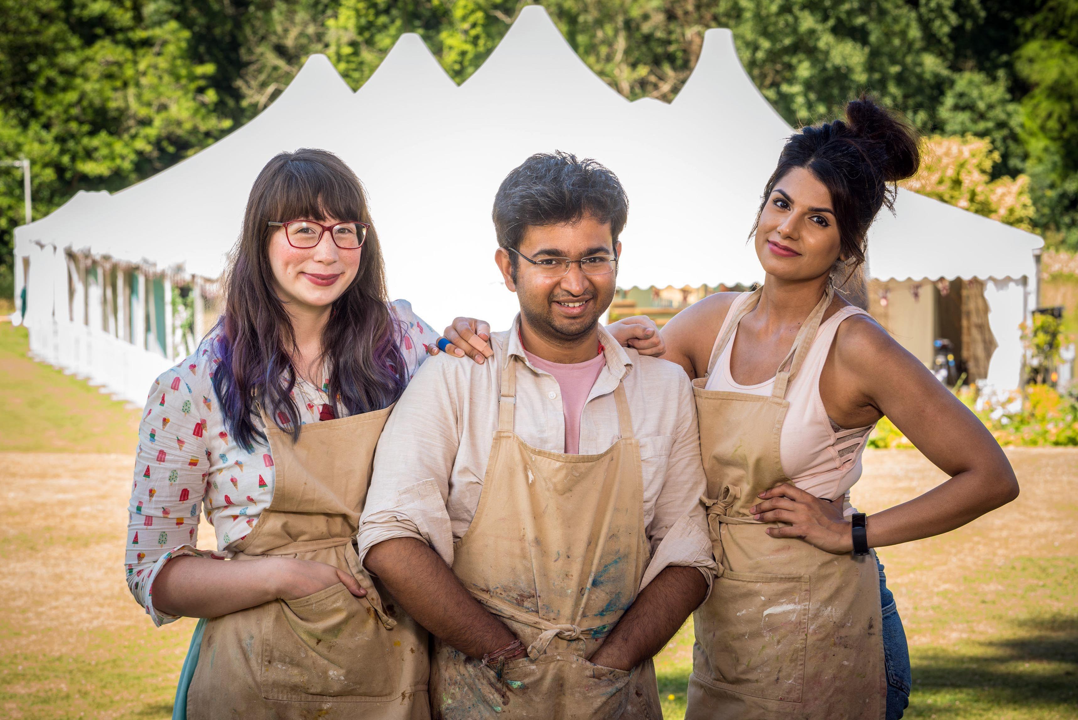 Kim-Joy, Rahul, Ruby, The Great British Bake Off, Season 9, Finalists