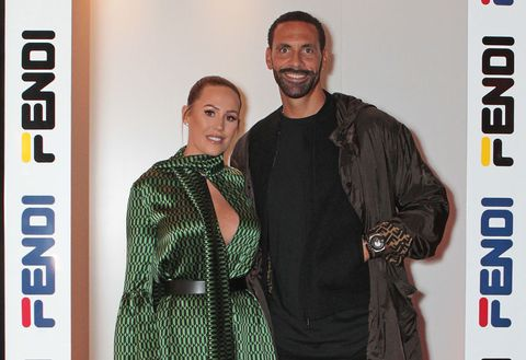 Rio Ferdinand marries former TOWIE star Kate Wright in emotional ceremony